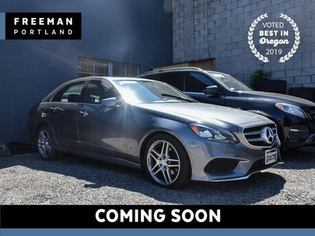 2016_Mercedes-Benz_E 350_Sport 4MATIC Nav Blind Spot Assist Keyless Go_ Portland OR