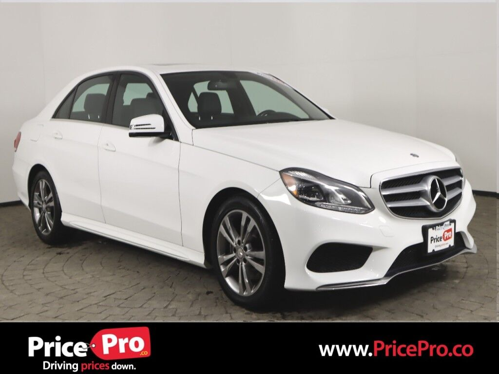 2016 Mercedes-Benz E 350 Sport 4MATIC P1 Package w/Nav/Sunroof