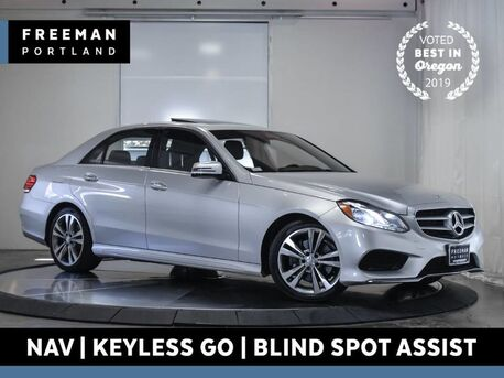 2016_Mercedes-Benz_E 350_Sport KeyGo Nav Blind Spot Assist Htd Seats_ Portland OR