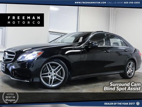 2016_Mercedes-Benz_E 350_Sport Package Blind Spot Assist Surround Cam_ Portland OR