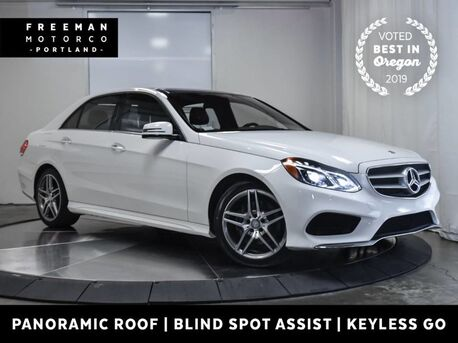 2016_Mercedes-Benz_E 400_4MATIC Keyless Go Blind Spot Assist Pano Nav_ Portland OR