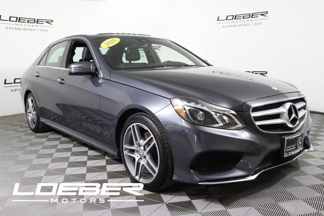 2016 Mercedes-Benz E 400 4MATIC® Sedan Chicago IL