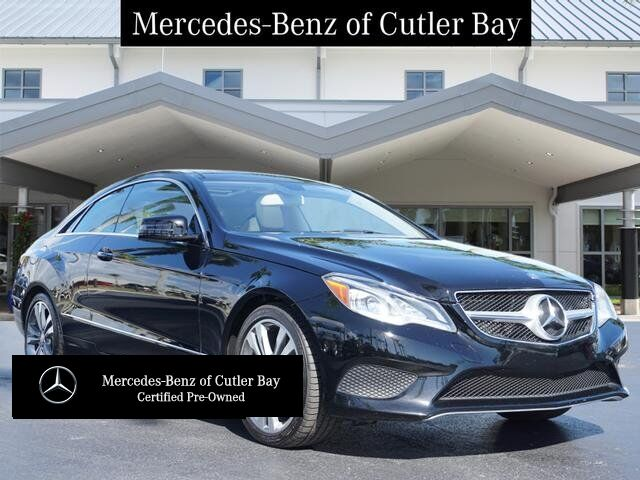 2016 Mercedes-Benz E 400 COUPE Cutler Bay FL