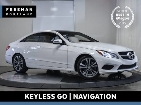 2016_Mercedes-Benz_E 400_Coupe Keyless Go Heated Seats Nav Back-Up Cam_ Portland OR