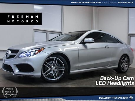 2016_Mercedes-Benz_E 400_Sport Package Htd/Ventilated Seats Lighting Pkg_ Portland OR