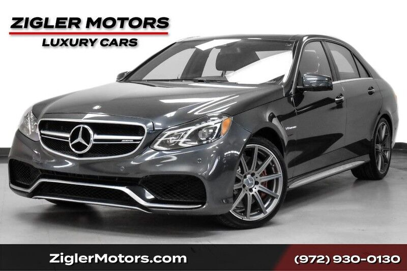 2016 Mercedes-Benz E-Class AMG E 63 S One Owner Clean Carfax Pano Roof Driver Assist AMG Performance Steering