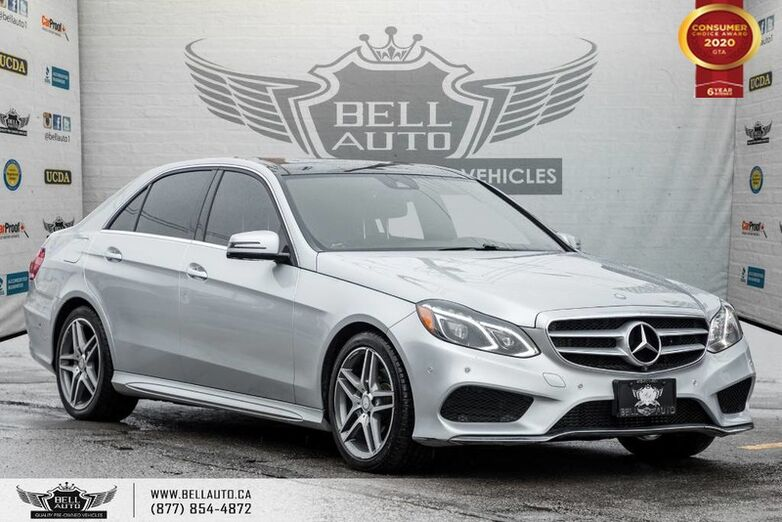 2016 Mercedes-Benz E-Class E 250 BlueTEC, DIESEL, NO ACCIDENT, AWD, NAVI, 360 CAM Toronto ON