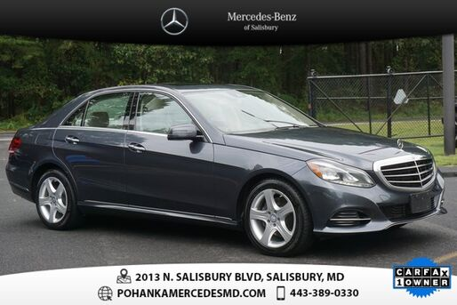 2016_Mercedes-Benz_E-Class_E 350 4MATIC®  **  MERCEDES-BENZ CERTIFIED  **_ Salisbury MD