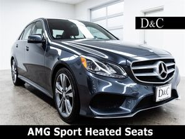 2016_Mercedes-Benz_E-Class_E 350 AMG Sport Heated Seats_ Portland OR