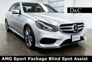 2016_Mercedes-Benz_E-Class_E 350 AMG Sport Package Blind Spot Assist_ Portland OR