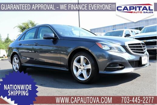 2016 Mercedes-Benz E-Class E 350 Chantilly VA