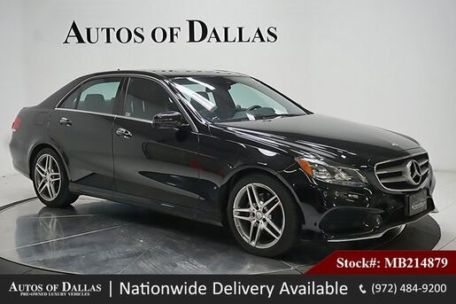 2016_Mercedes-Benz_E-Class_E 350 LANE TRCK,NAV,CAM,SUNROOF,HTD STS,AMG WHLS_ Plano TX