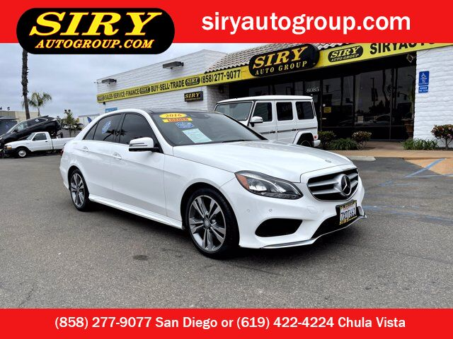 2016 Mercedes-Benz E-Class E 350 Luxury San Diego CA