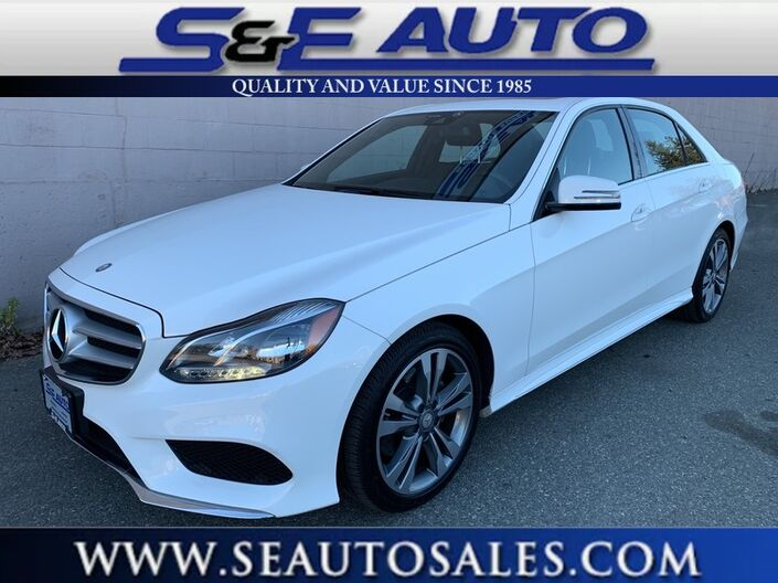 2016 Mercedes-Benz E-Class E 350 Luxury Walpole MA