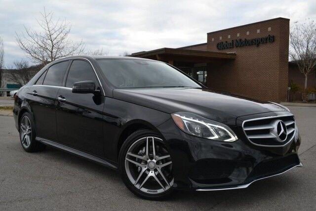 2016 Mercedes-Benz E-Class E 350 Sport/$62,240 MSRP/Sport Pkg/AMG Sport Wheels/Blind Spot Monitor/Lane Keep Assist/Keyless Go/Lighting Pkg/Nav/Rear View Cam/Heated Seats/HK Sound/Sport Steering Wheel Nashville TN