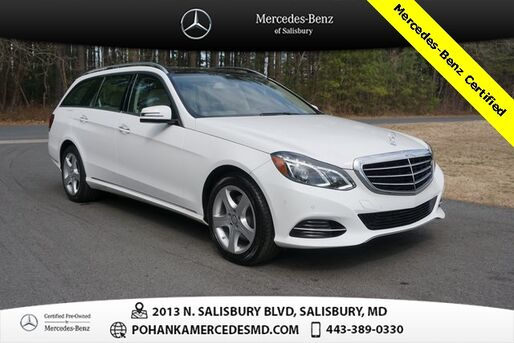 2016_Mercedes-Benz_E-Class_E 350 WAGON ** 4MATIC® ** Mercedes-Benz Certified **_ Salisbury MD