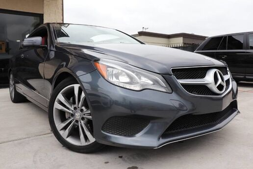 2016 Mercedes-Benz E-Class E 400 CLEAN CARFAX 1 OWNER PANORAMIC ROOF Houston TX