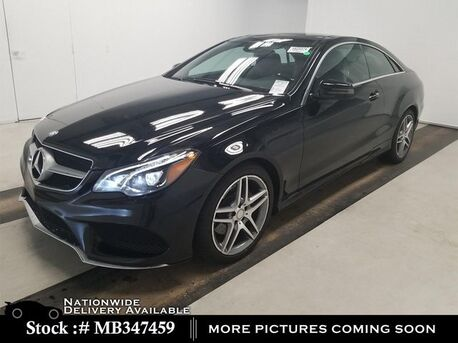 2016_Mercedes-Benz_E-Class_E 400 Coupe AMG SPORT,LANE TRCK,CLMT STS,FULL LED_ Plano TX