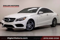 2016_Mercedes-Benz_E-Class_E 550 Coupe AMG Sport Pano Roof Blind Spot_ Addison TX