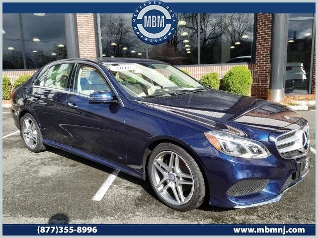 2016 Mercedes-Benz E-Class E350 4MATIC® Sedan Morristown NJ