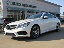 2016_Mercedes-Benz_E-Class_E400 Coupe*SEAT MEMORY,HEATED FRONT SEATS,BLUETOOTH,UNDER FACTORY WARRANTY!!_ Plano TX
