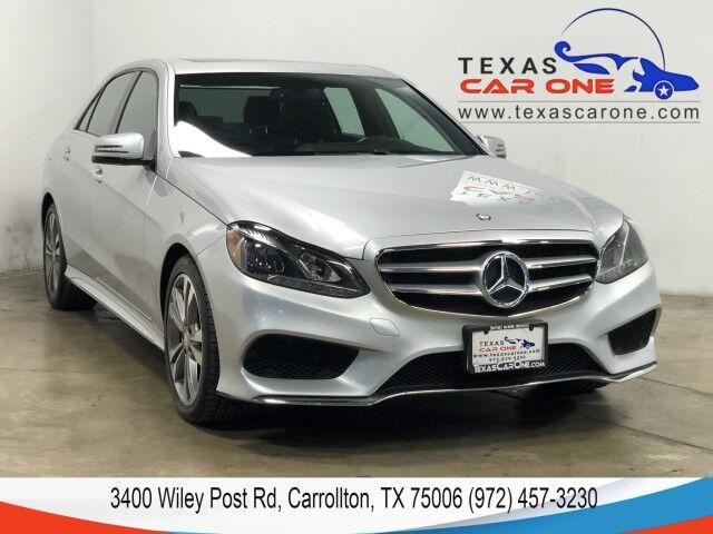 2016 Mercedes-Benz E350 SPORT PREMIUM 1 PKG NAVIGATION HARMAN KARDON SOUND SUNROOF LEATHER REAR CAMERA Carrollton TX