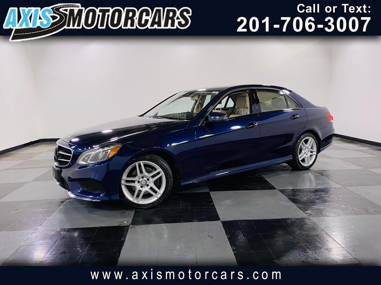 2016 Mercedes-Benz E350 w/Harman Kardon Sound Navigation Backup Camera Jersey City NJ