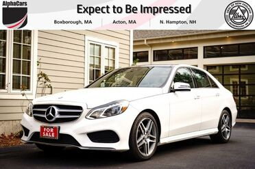2016_Mercedes-Benz_E400_4Matic_ Boxborough MA