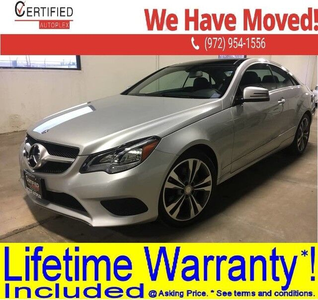 2016 Mercedes-Benz E400 COUPE 4MATIC PANORAMIC ROOF HEATED LEATHER SEATS BLUETOOTH DUAL MEMORY POWE Dallas TX