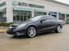 2016_Mercedes-Benz_E400 Coupe_3.5L 6CYL AUTOMATIC, LEATHER SEATS, SUNROOF, NAVIGATION, BACKUP CAMERA, BLIND SPOT MONITOR, LANE KEE_ Plano TX