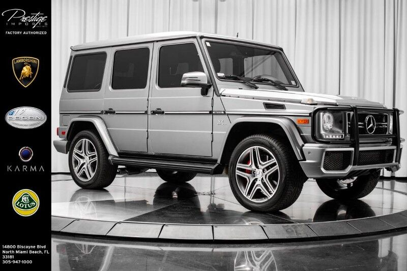 2016_Mercedes-Benz_G-Class_AMG G 63_ North Miami Beach FL