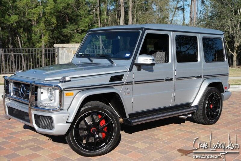2016 Mercedes-Benz G-Class AMG G 63 The Woodlands TX