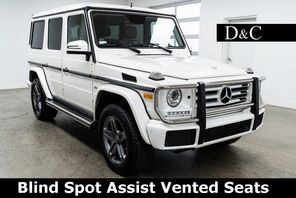 2016_Mercedes-Benz_G-Class_G 550 4MATIC Blind Spot Assist Vented Seats_ Portland OR