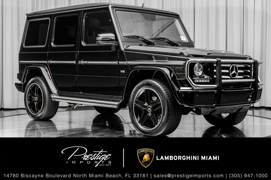 2016 Mercedes-Benz G-Class G 550 North Miami Beach FL