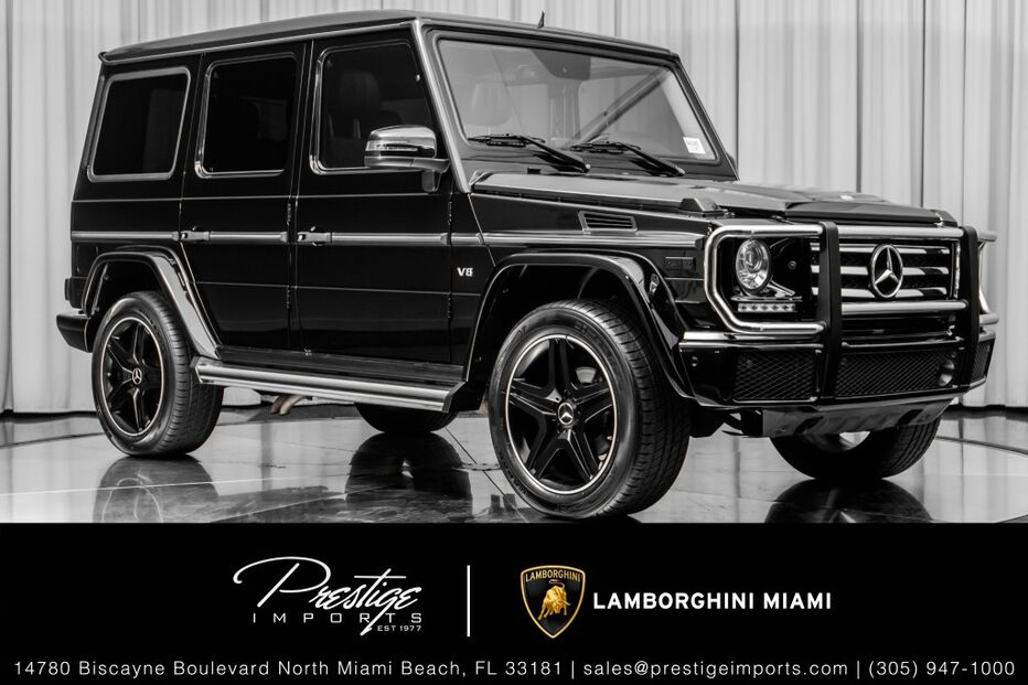 2016_Mercedes-Benz_G-Class_G 550_ North Miami Beach FL