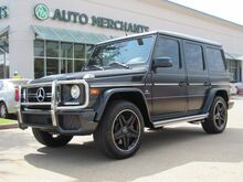 2016_Mercedes-Benz_G-Class_G63 AMG 4MATIC LEATHER AMG, SUNROOF, BLIND SPOT, PARKING SENS, HARMAN/KARDON, UNDER FACTORY WARRANTY_ Plano TX
