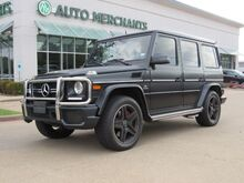 2016_Mercedes-Benz_G-Class_G63 AMG 4MATIC LEATHER, HTD/CLD FRONT STS, SUNROOF, BLIND SPOT, NAVIGATION, BACKUP CAM, BLUETOOTH_ Plano TX