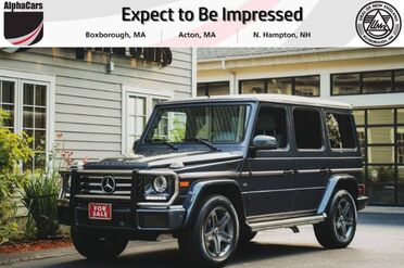 2016_Mercedes-Benz_G550_4Matic_ Boxborough MA
