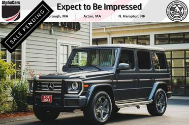 2016_Mercedes-Benz_G550_4Matic_ Boxborough MA