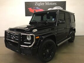 Mercedes-Benz G550 Black/Black 2016