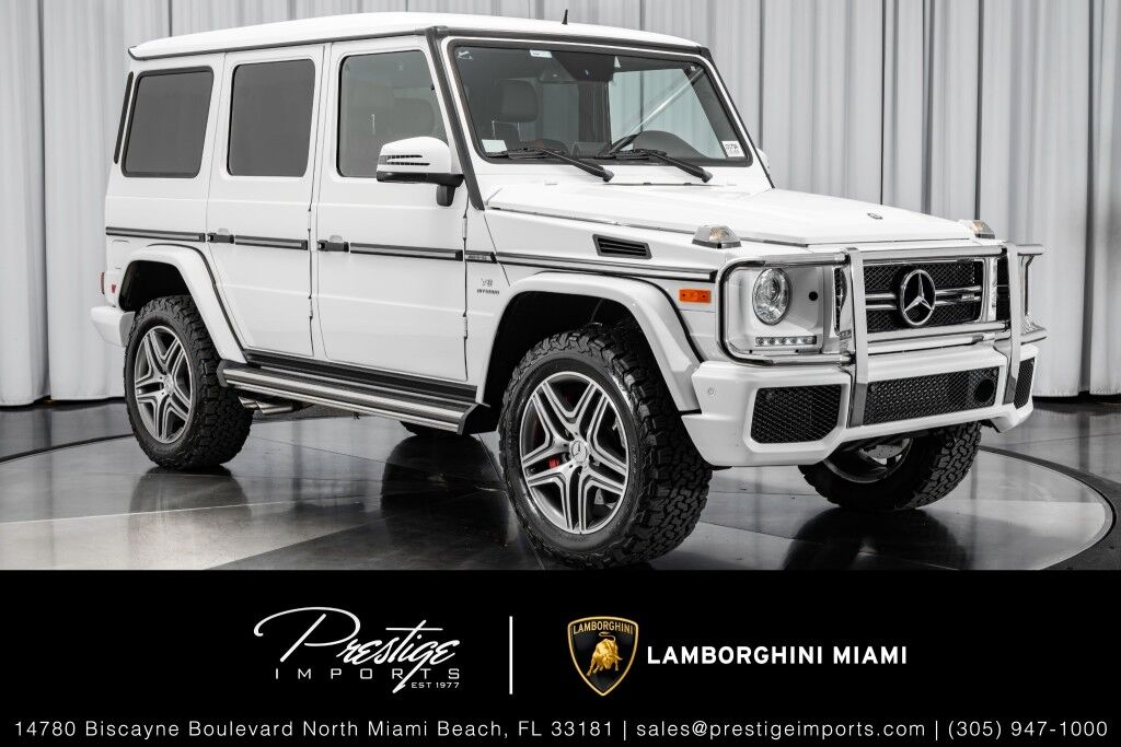 2016 Mercedes-Benz G63 AMG G 63 North Miami Beach FL
