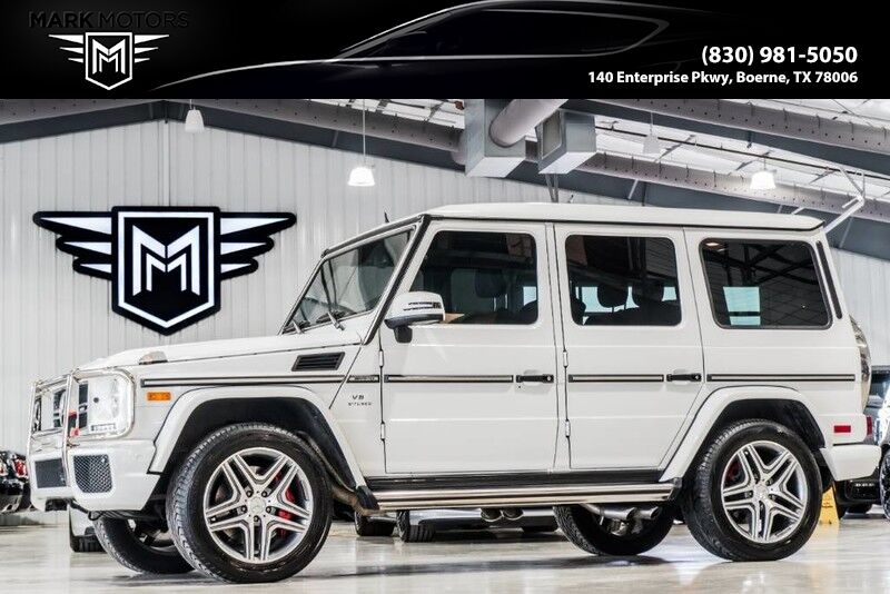 2016_Mercedes-Benz_G63_DESIGNO EXCLUSIVE LEATHER - $146,025 MSRP_ Boerne TX