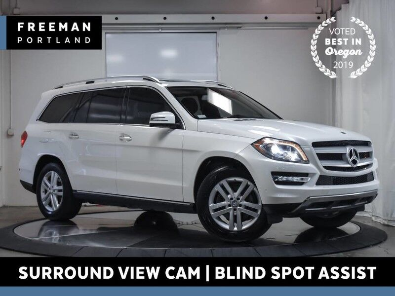 2016 Mercedes-Benz GL 450 4MATIC 3rd Row Seats Keyless Go Surround Cam Portland OR