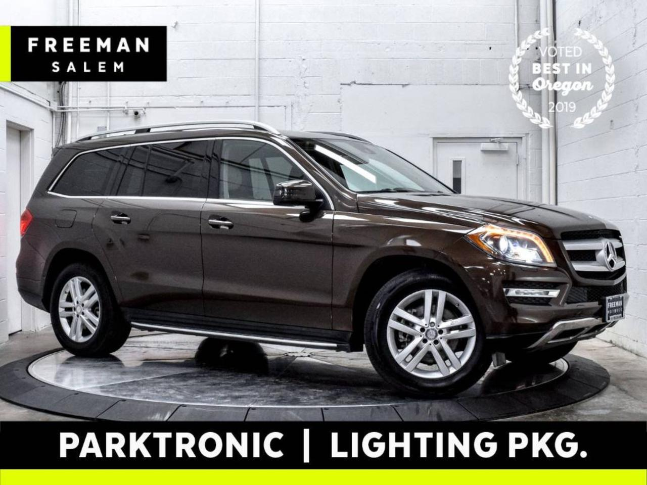 2016 Mercedes-Benz GL 450 4MATIC Parktronic Lighting Package Lane Assist