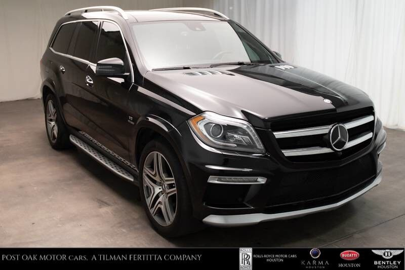 2016 Mercedes-Benz GL AMG GL 63 Houston TX