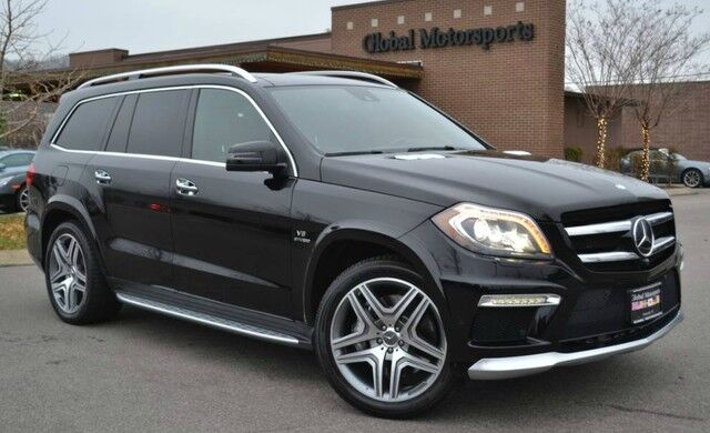 2016 Mercedes-Benz GL AMG GL63/550 HP/Pano Roof/Blind Spot/Lane Keep/MUST SEE! Nashville TN