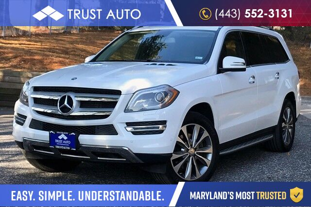 2016 Mercedes-Benz GL GL 350 BlueTEC 3.0L V6 Turbo Diesel AWD 7-Passenger Luxury SUV Sykesville MD