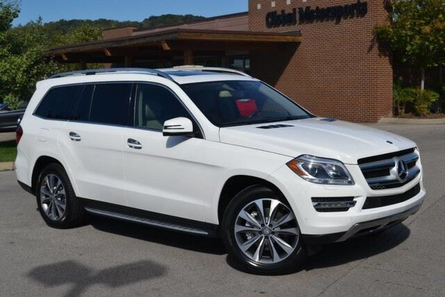 2016 Mercedes-Benz GL GL 450/AWD/New Tires/Rear DVD/Appearance Pkg/Blind Spot Monitor/Lane Departure Warning/Keyless Go/Heated&Cooled Leather/Pwr Fold 3rd Row/Bluetooth Audio Nashville TN