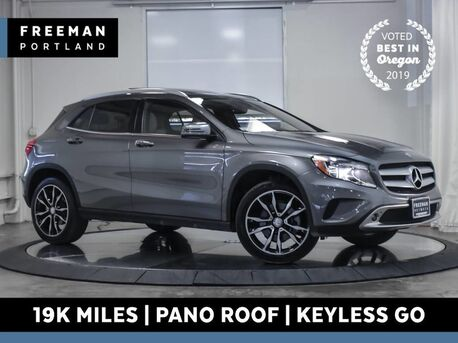 2016_Mercedes-Benz_GLA 250_4MATIC Blind Spot Asst Htd Seats KeyGo Pano_ Portland OR