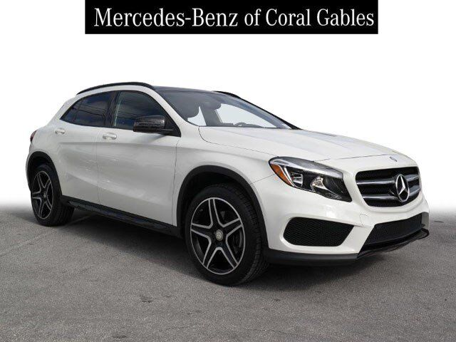 2016 Mercedes-Benz GLA 250 4MATIC® SUV Coral Gables FL